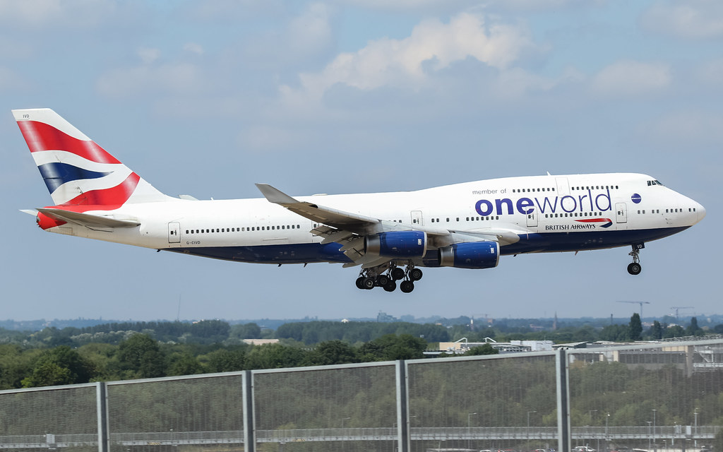 G-CIVD BRITISH AIRWAYS BOEING 747-400