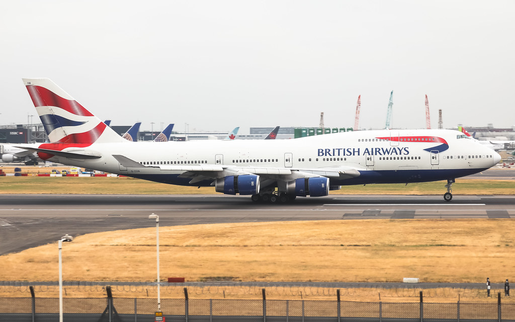 G-CIVA BRITISH AIRWAYS BOEING 747-400