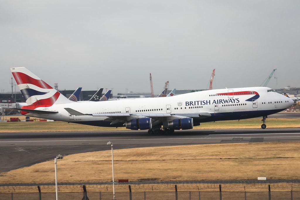 G-CIVO BRITISH AIRWAYS BOEING 747-400