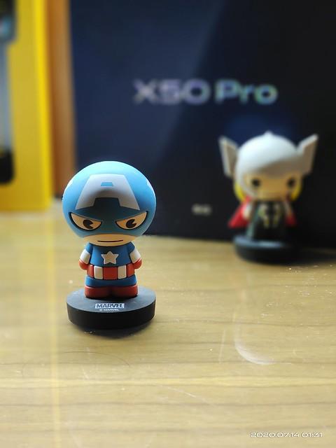 Vivo X50 Pro portait mode and front camera