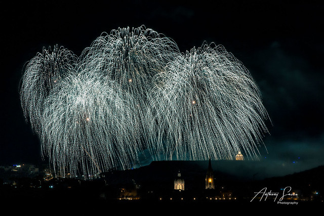 Malta International Fireworks Festival. Day 1