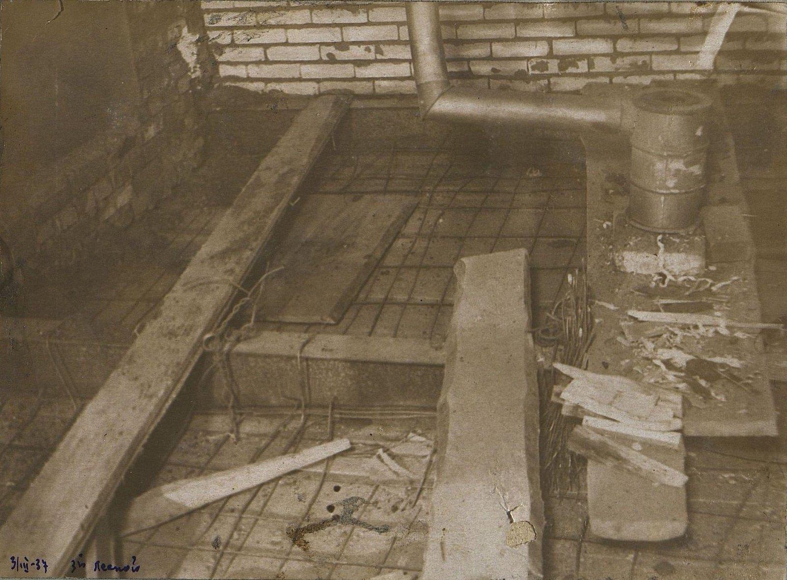 20. 1937. Участок строительства школы на 3-й Лесной улице. 3 марта