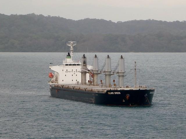 Lake Gatun Ship