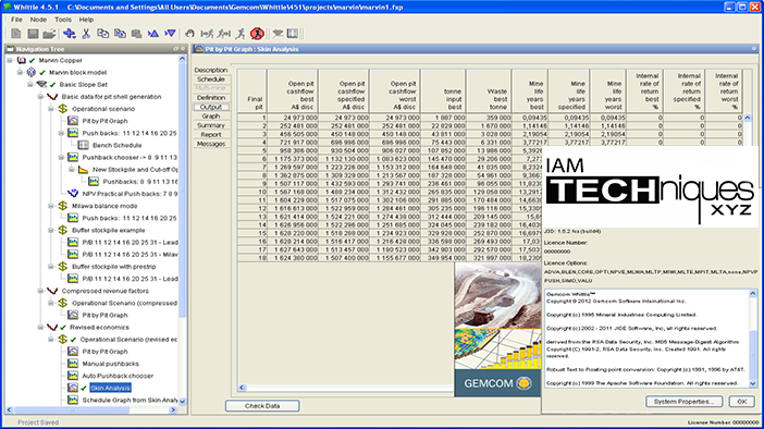 Working with Gemcom Whittle 4.5.1 full