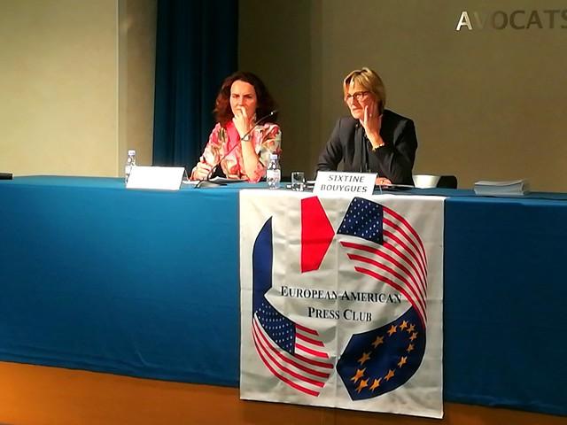European American Press Club, Sixtine Bouygues, 2017