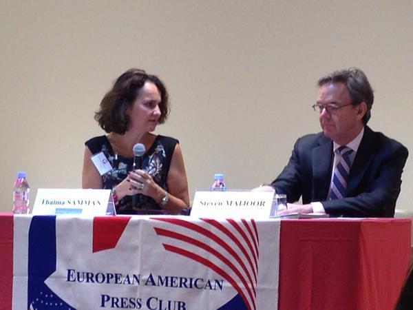 European American Press Club, Steven Maijoor ESMA, 2015