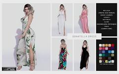 [WellMade] Donatella Dress