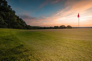 Summer Golf Evening