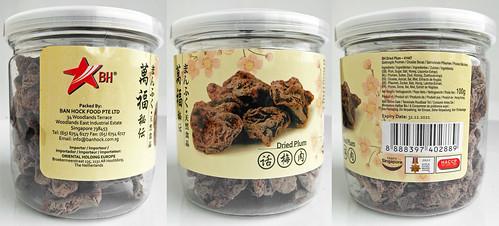 Dried plums / Chinees gedroogde pruimen
