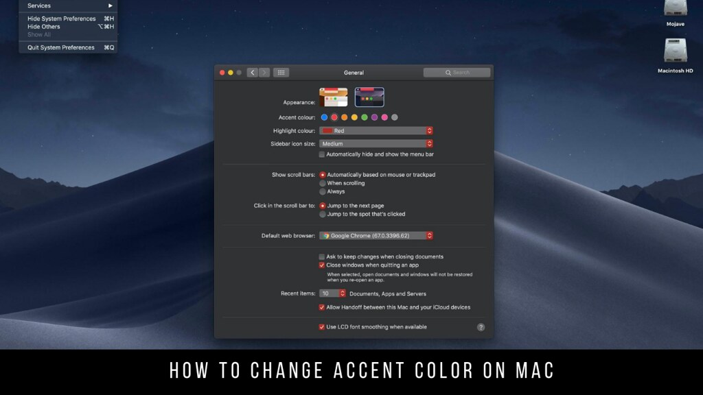 How to Change Accent Color on Mac