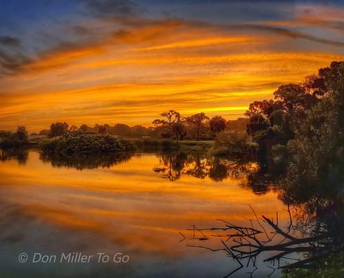 reflections sunrise lakes s10e orange skycandy skypainter skyscapes nature rookery