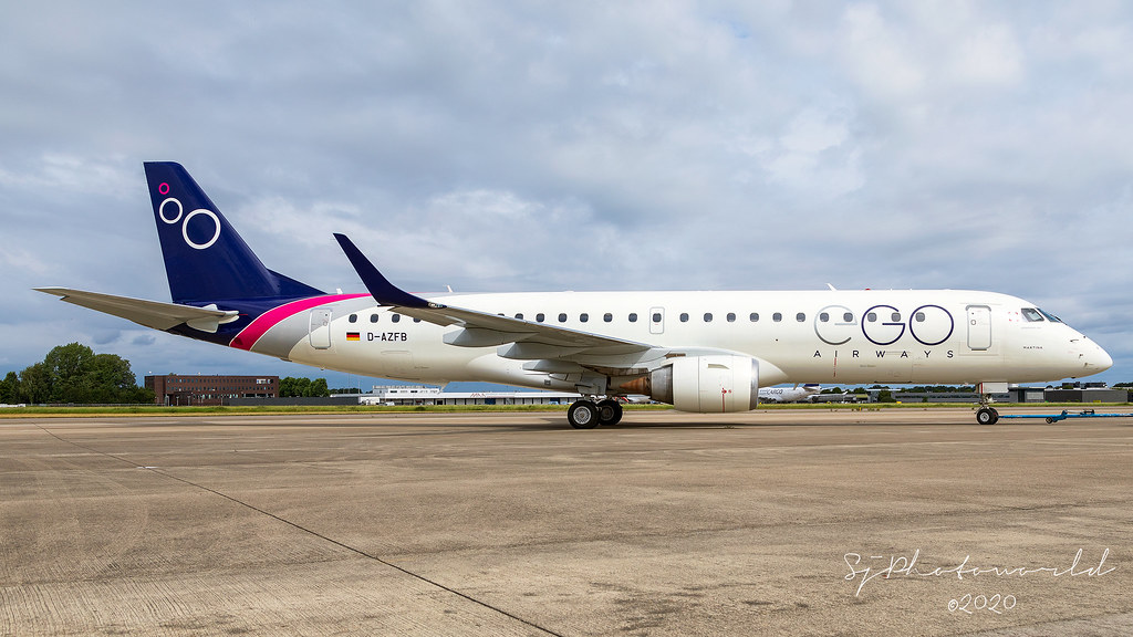 EGO Airways I-EGOA Embraer E190