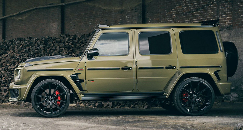 Brabus-700-Mercedes-AMG-G63-in-army-look-by-Fostla-2