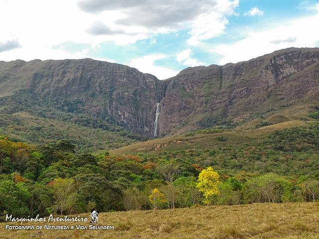 Cachoeira Casca d´Anta - Maior queda do rio São Francisco - 186 mts de altura