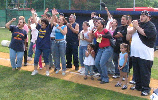 Frankford's baseball fans celebrate a victory in 2005 | by tedtee308