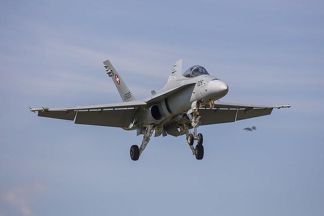 J-5025, McDonnell Douglas F/A-18C Swiss AIr Force @ Emmen  LSME EML