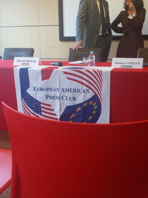 European American Press Club Paris, 2016