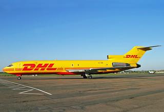HZ-SNB Boeing 727-233F DHL Express