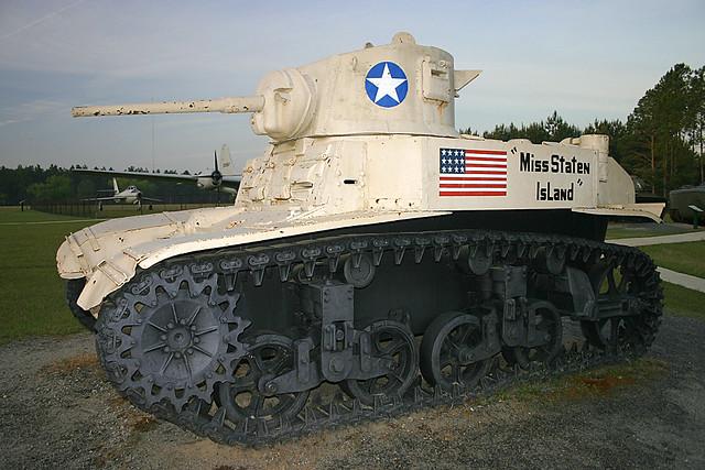 M3A Stuart Light Tank, Military Park, Georgia (2 of 2)