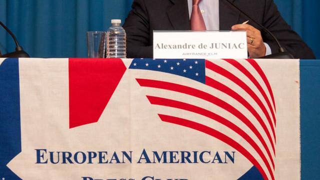 European American Press Club avec Alexandre de Juniac