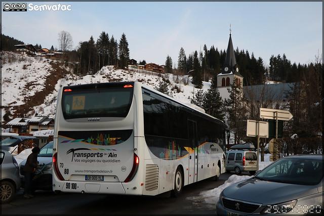 Iveco Bus Evadys – Transports de l'Ain / Rubis Grand Bourg Mobilités n°568T