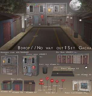 Bdrop // No Way Out Set Gacha | by IgorAlmeida - Bdrop