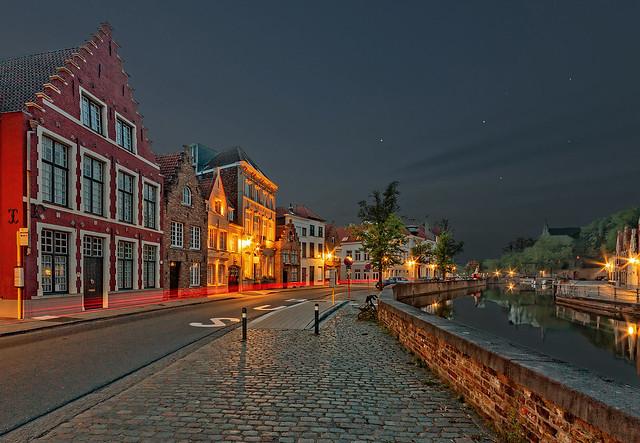Bruges by evening