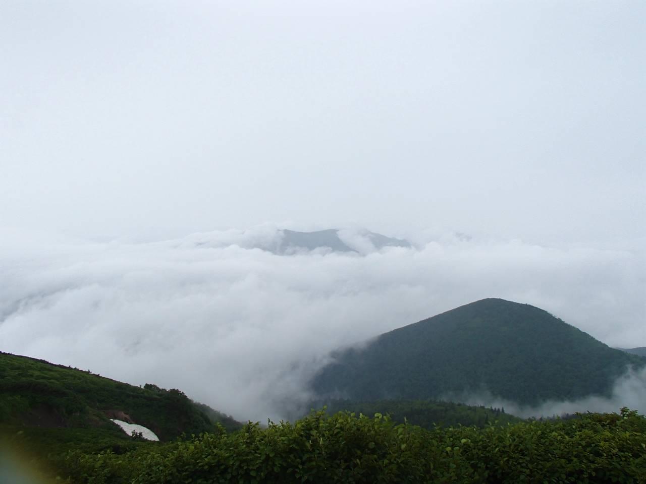 北海道・ニペソツ山登山 雲海