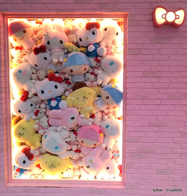 The global first Hello Kitty & 7-11 co-brand convenience store at Taipei, Taiwan, SJKen, Jul 21, 2020