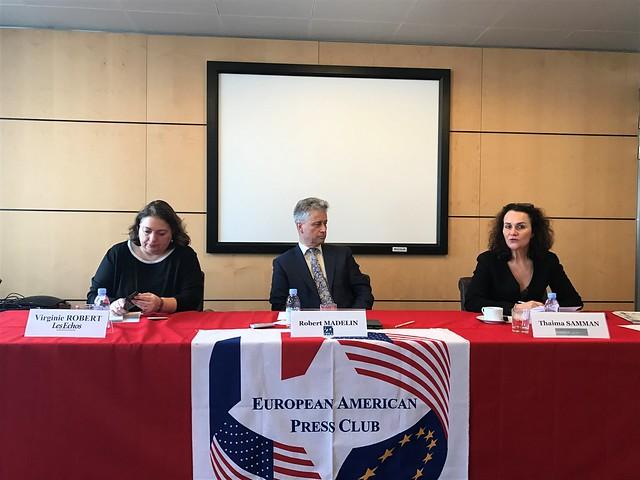 European American Press Club, Robert Madelin