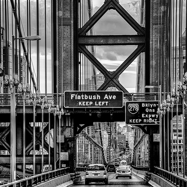 On Manhattan Bridge
