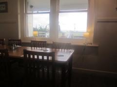 Window onto verandah, Kilcunda  Ocean View Hotel, Bass Highway, Kilcunda, Gippsland, Victoria