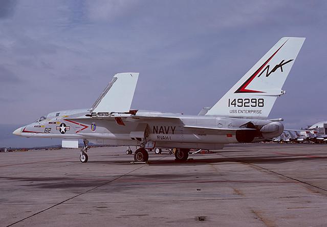 RA-5C Vigilante 149298 of RVAH-1 NK-612