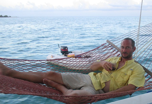 Rare Picture of Jay Relaxing, Dry Tortugas 2015