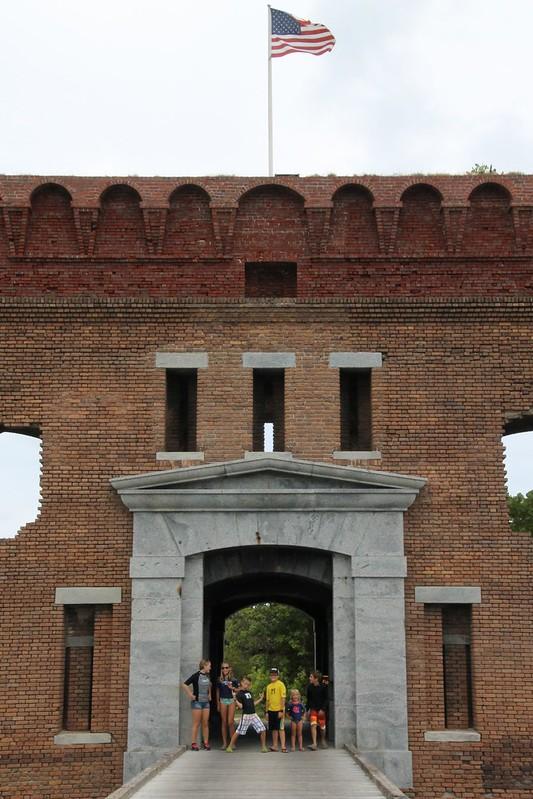 Fort Jefferson, 2015