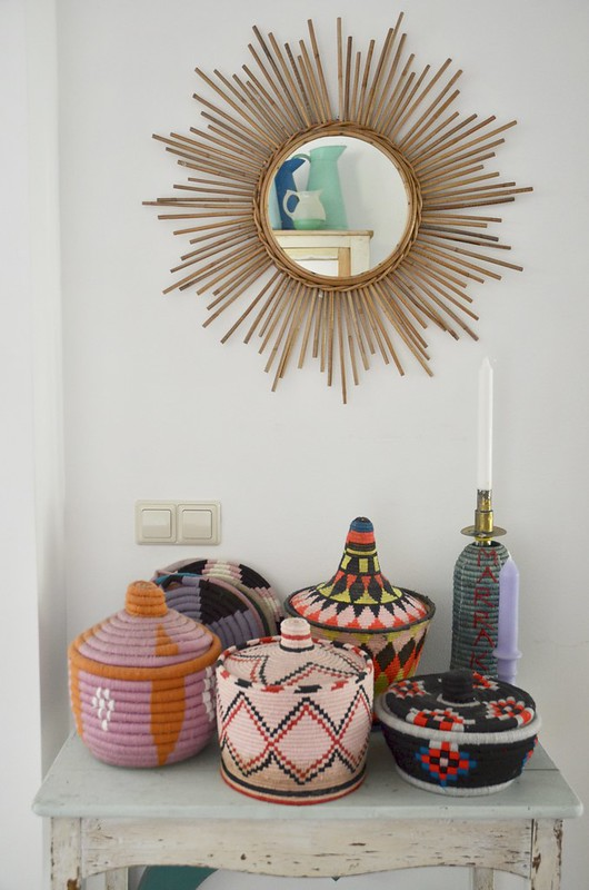moroccan basket collection