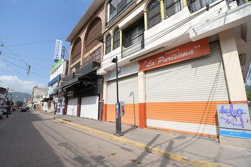 Negocios Cerrados en Cabecera Municipal por Contingencia Sanitaria de Covid-19