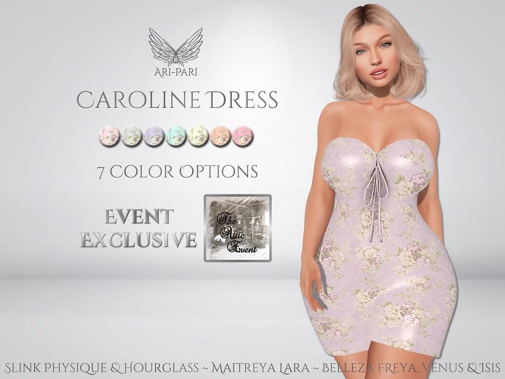 [Ari-Pari] Caroline Dress