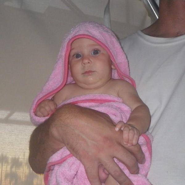 Rachel after a bath