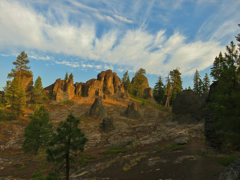 The Palisades in the Gearhart Mountain Wilderness