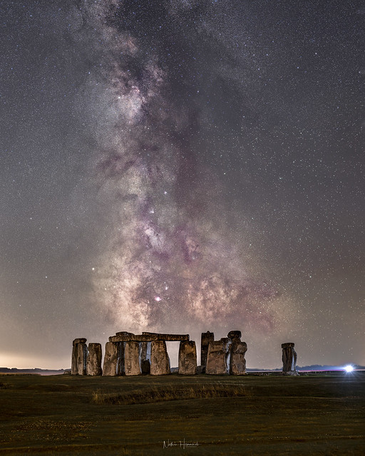 Stonehenge under the Milky Way!