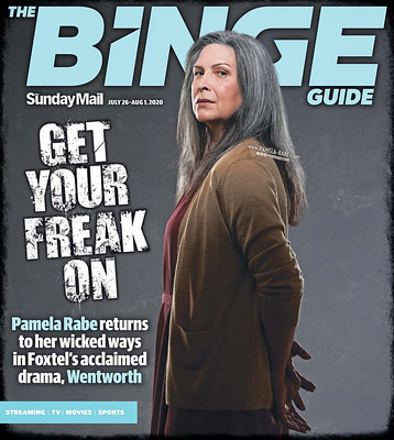 Pamela Rabe as Joan Ferguson / Kath Maxwell in Wentworth Season 8 Redemption