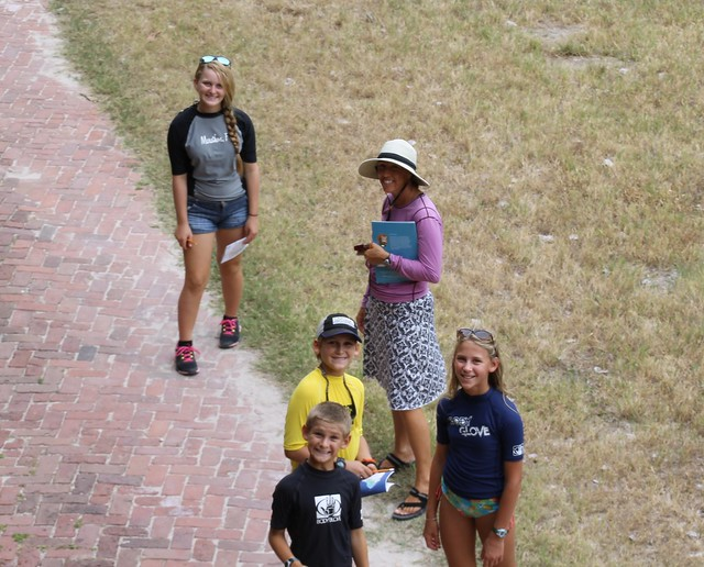 Junior Rangers, Dry Tortugas National Park