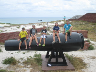 Cannon, Fort Jefferson | by taketwosailing