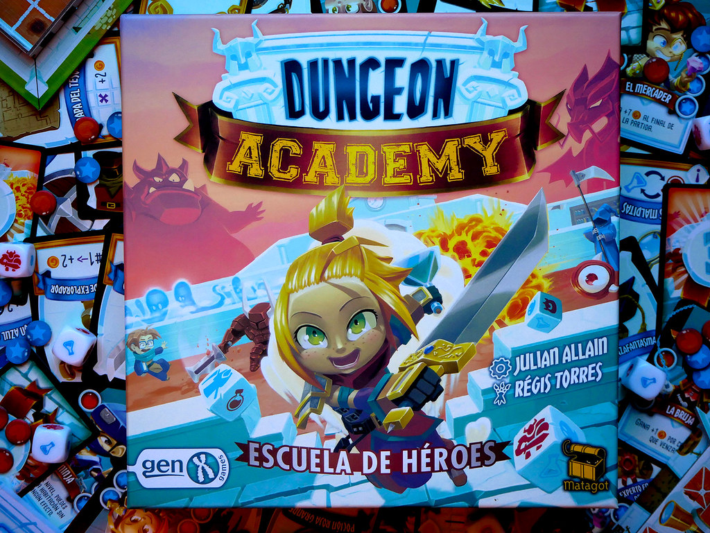 DUNGEON ACADEMY COLLAGE