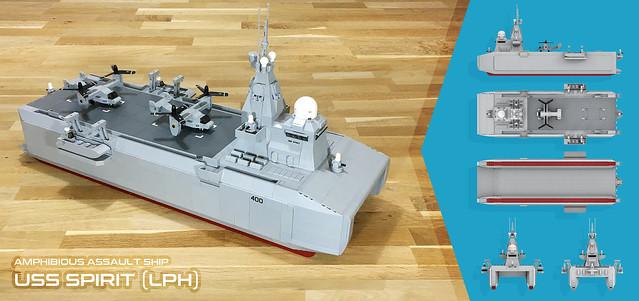 USS SPIRIT (LPH)