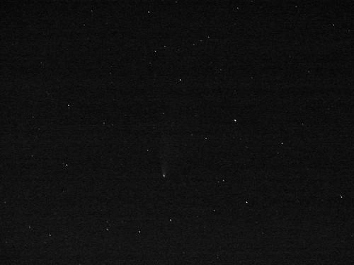 Comet NEOWISE - Last Glimpse
