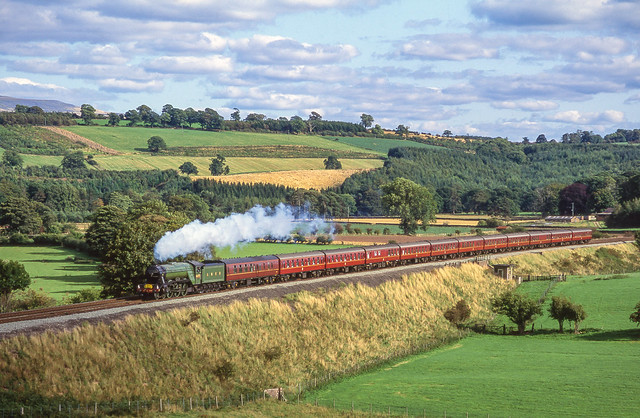 4472 'Flying Scotsman' At Lazonby. 05/09/1992.