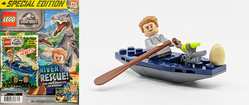 LEGO SE Jurassic Owen