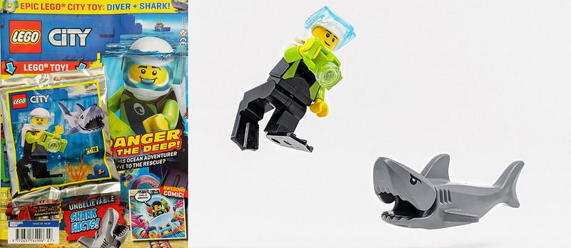 LEGO City Diver